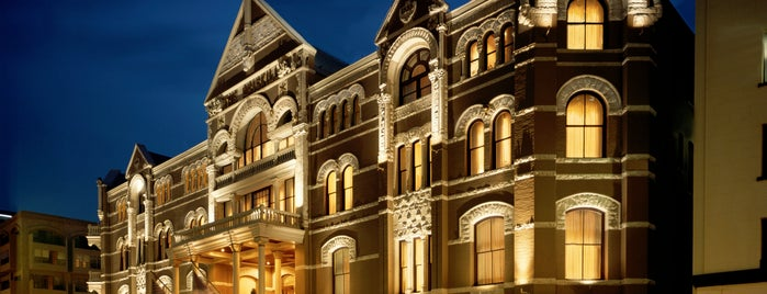 The Driskill is one of Austin.