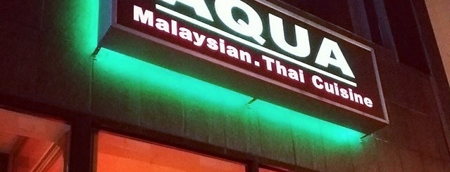 Aqua Malaysian Thai Cuisine is one of Center City Sips 2015.