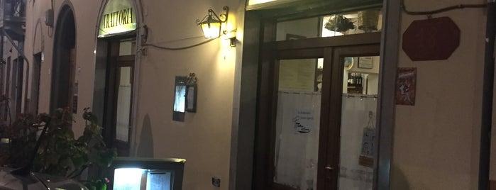 Trattoria Del Carmine is one of Florencia.