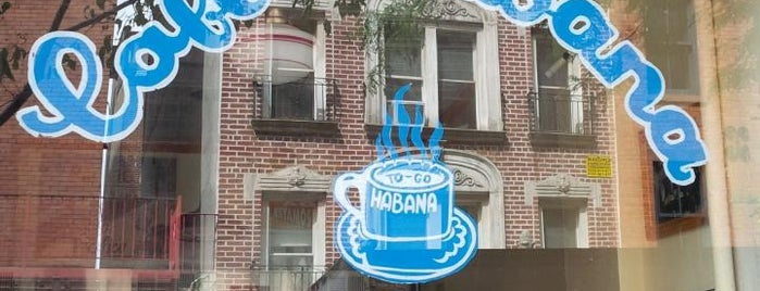 Café Habana is one of The Outsiders.