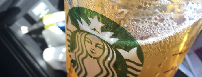 Starbucks is one of Mo's Liked Places.