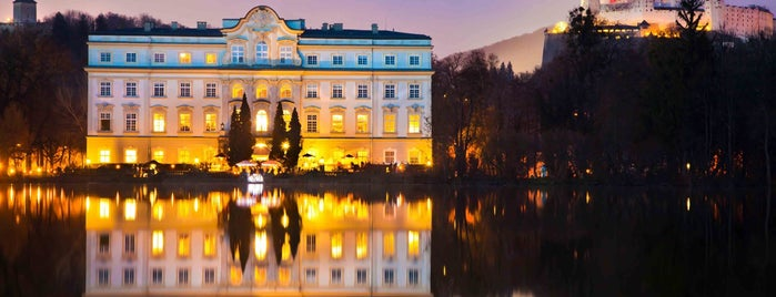 Hotel Schloss Leopoldskron is one of Austria #4sq365at Zwoa (Two).