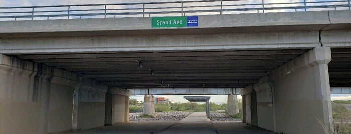 New River Trail at Grand Ave is one of Pheonix, Arizona.