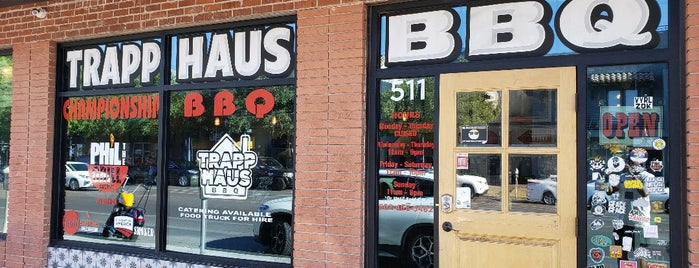 Trapp Haus BBQ is one of PHX Eats.