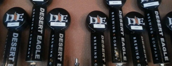 Desert Eagle Brewing Company is one of PHX Beer Bars.