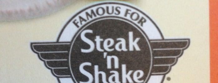 Steak 'n Shake is one of Lunch.