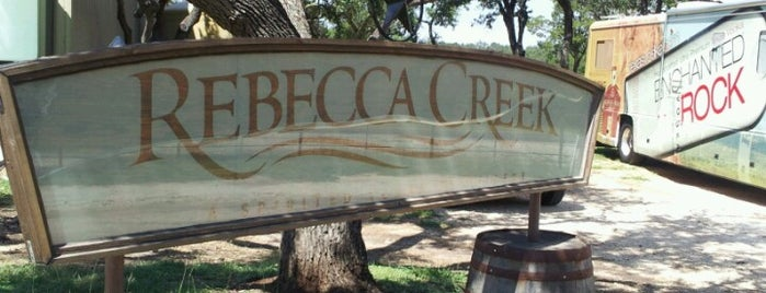 Rebecca Creek Distillery is one of Must-visit Distilleries in Texas.