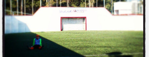 La Salle, Unidad Deportiva Santa Lucia is one of Tempat yang Disukai Jorge.