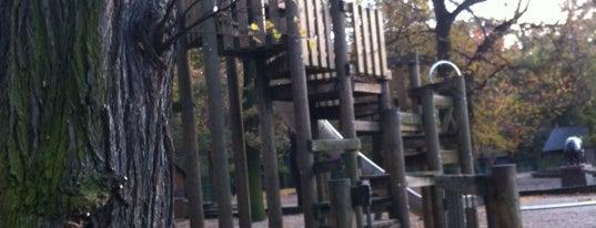 Spielplatz im Tierpark is one of สถานที่ที่ Robert ถูกใจ.