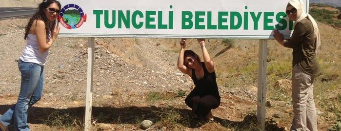 Tunceli is one of visited tr.