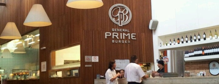 General Prime Burger is one of Comida!.