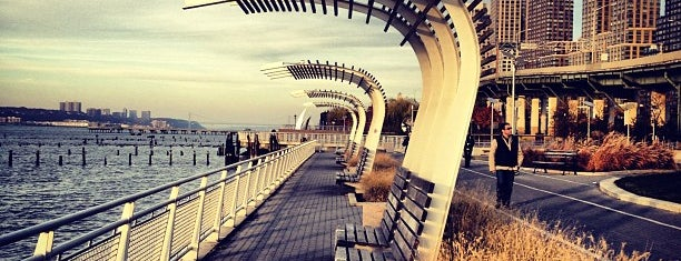 Hudson River Park is one of April NYC.