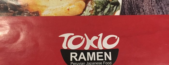Tokio Ramen is one of Nikさんのお気に入りスポット.