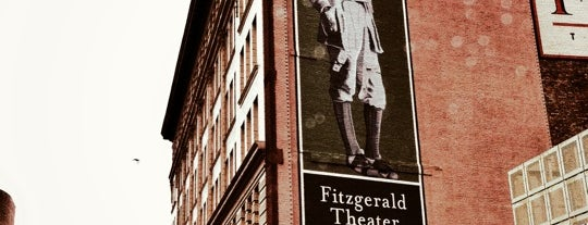 Fitzgerald Theater is one of The Great Twin Cities To-Do List.