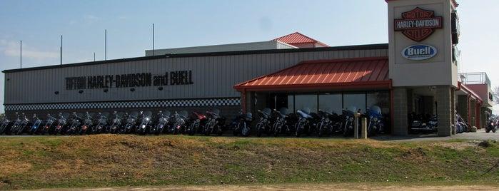 Tifton Harley-Davidson is one of Gespeicherte Orte von Anna.