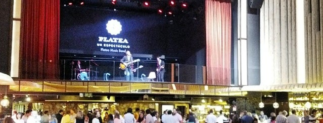 Platea Madrid is one of Barras Madrid.