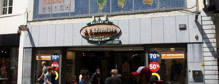 A.S. Adventure is one of Lieux qui ont plu à Gordon.