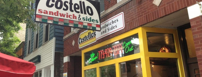Costello Sandwiches & Sides is one of Recommended Places.