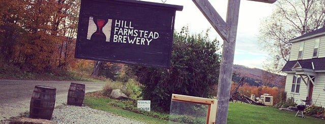 Hill Farmstead Brewery is one of Beer / Ratebeer's Top 100 Brewers [2019].