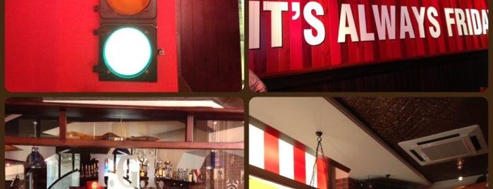 T.G.I. Friday's is one of Tempat yang Disukai Nami.