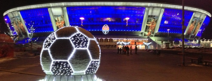 Donbass Arena / Донбасс Арена is one of Donetsk.