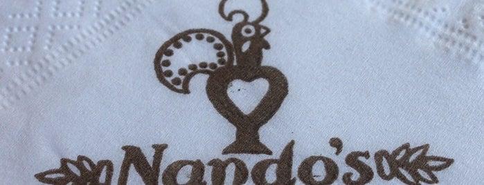 Nando's is one of Locais curtidos por Del.