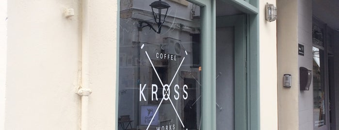 KROSS Coffee Works is one of Gespeicherte Orte von Mischa.