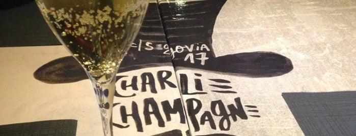 Charlie Champagne is one of Calorías variadas.