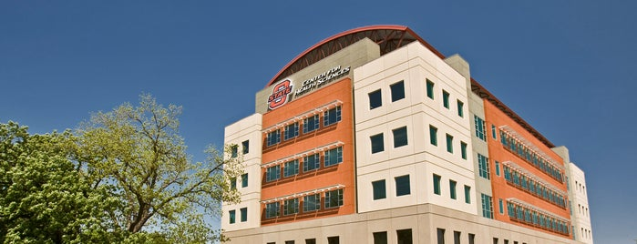 Oklahoma State University - Center for Health Sciences (OSU-CHS) is one of OKState CHS.