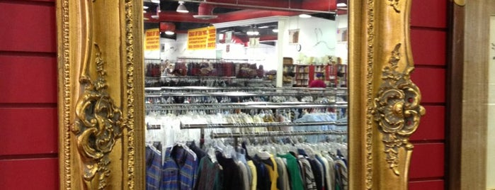 Salvation Army Thrift Store is one of Vintage/thrift.