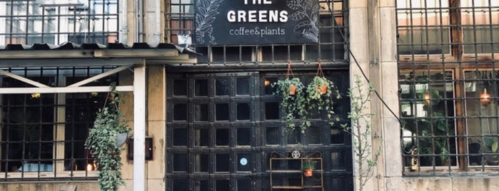 The Greens is one of Berlin food.
