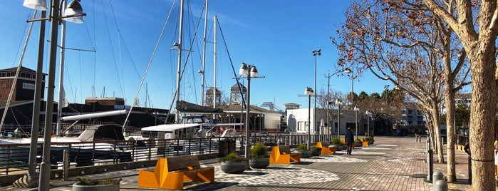 Jack London Square Public Shoreline is one of Cities & Towns & Downtowns.