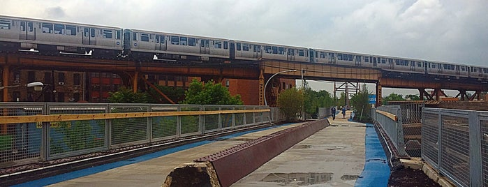 Bloomingdale Trail — The 606 is one of Chicago.