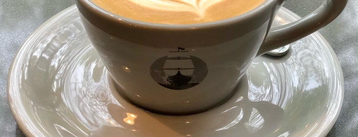 Groundswell Coffee Roasters is one of Chicago's best coffee shops!.