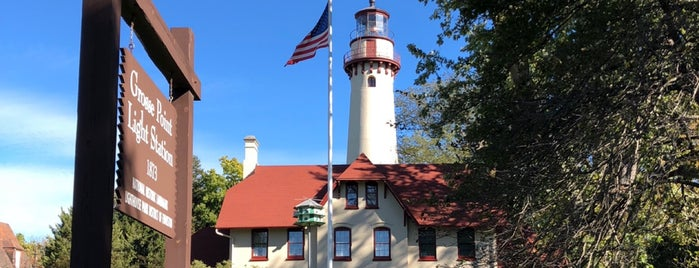 Grosse Point Lighthouse & Maritime Museum is one of Faros.