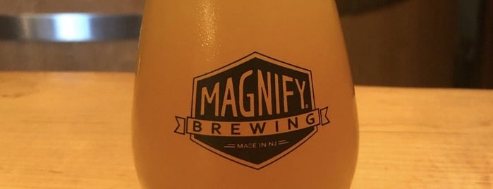 Magnify Brewing is one of สถานที่ที่ Cole ถูกใจ.