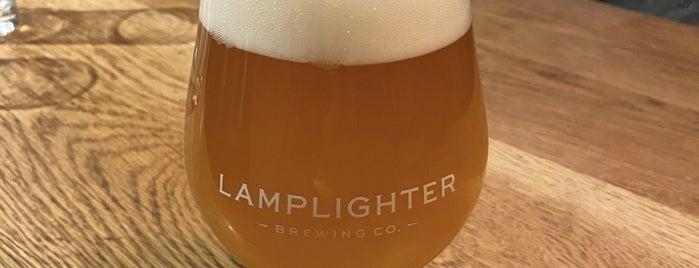 Lamplighter Brewing Co. is one of Tempat yang Disukai Silvie.