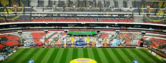 Estadio Azteca is one of mexico city.