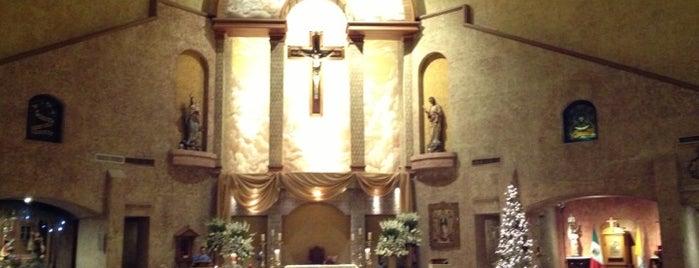 Parroquia de Nuestra Señora Reina de los Angeles is one of Lugares favoritos de Rudy.
