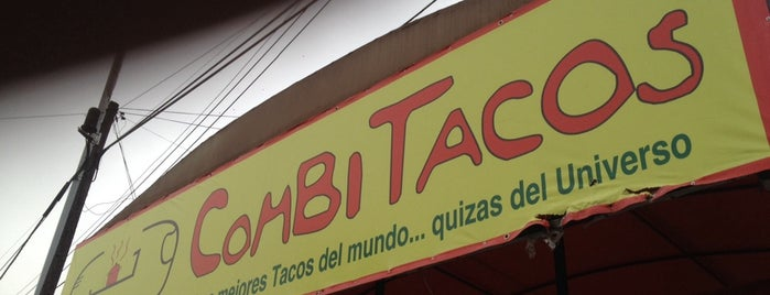 Combi Tacos is one of Carlosさんの保存済みスポット.