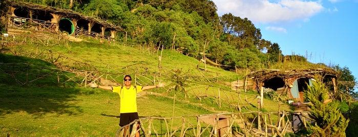 hobbitenango is one of Guatemala.
