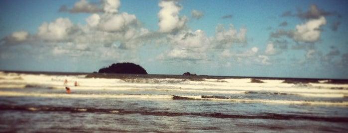 Praia de Peruíbe is one of Lugares favoritos de Romulo.