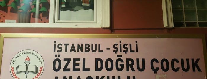 Özel Doğru Çocuk Anaokulu is one of Tempat yang Disukai Gamze.