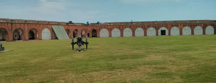 Fort Pulaski is one of Revolutionary War Trip.