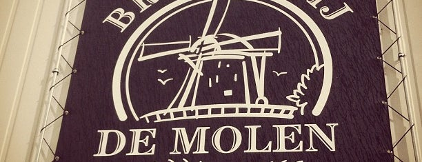 Brouwcafé de Molen is one of Beer / RateBeer's Top 100 Brewers [2015].
