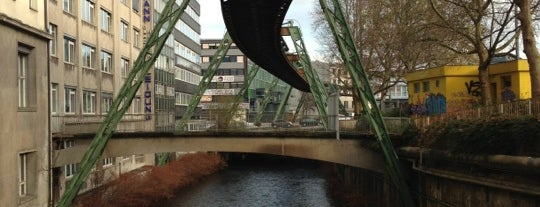 H Wuppertal HBF/Döppersberg (Schwebebahn) is one of Lieux sauvegardés par Artiom.