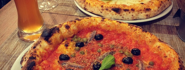 Basilicó is one of Europe // 50 Top Pizza.