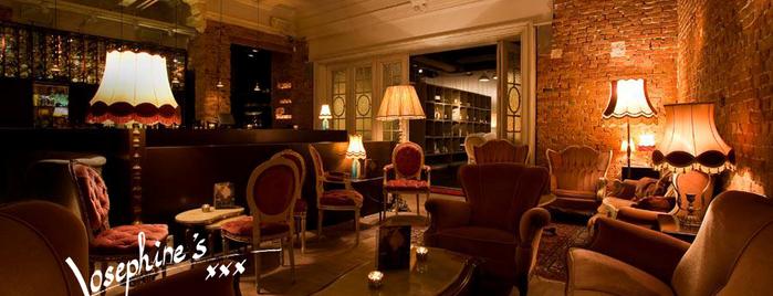Josephine's Bar & Restaurant is one of สถานที่ที่บันทึกไว้ของ Adam.