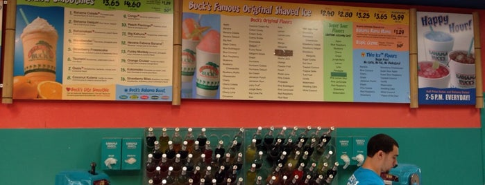 Bahama Buck's is one of Places to go.