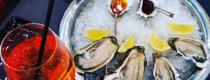 Oysters Cava Bar is one of Best eating out places in Kiev.